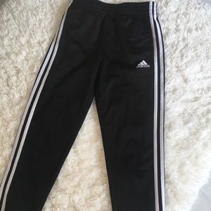 Adidas track pants, size M 10/12